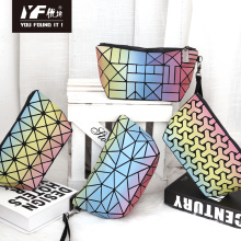 Custom colorful focus PU hand bag