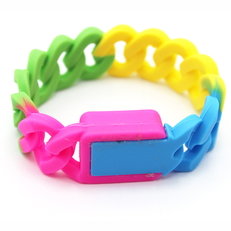 Silicone ​Twist Bracelet Digital Wrist Watch