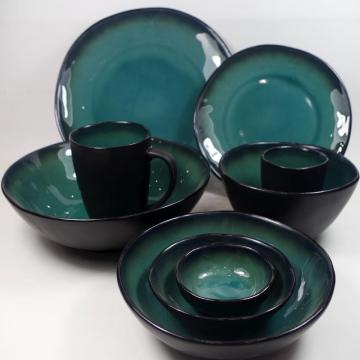 Stoneware Items in Crackle Glaze