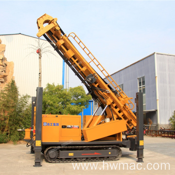 Pneumatic Water Well Drilling Rig Use