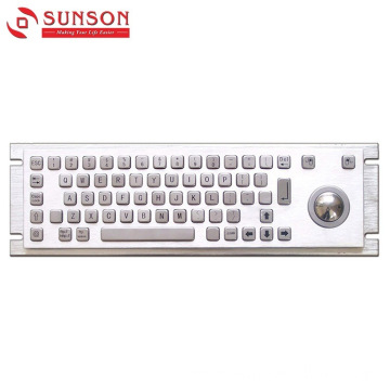 304 Stainless Steel Metal Keyboard for Self-Service Machine
