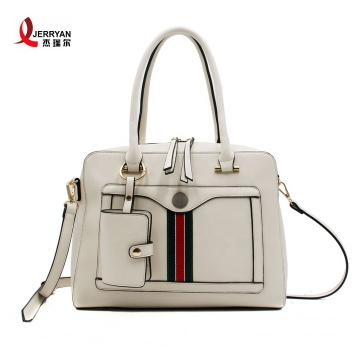 Young Ladies Nice White Handbags Tote Bags