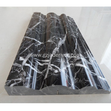 Natural Black Stone Cheap Marble Moulding