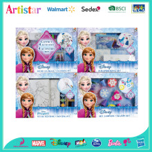 DISNEY FROZEN deluxe coloring activity set