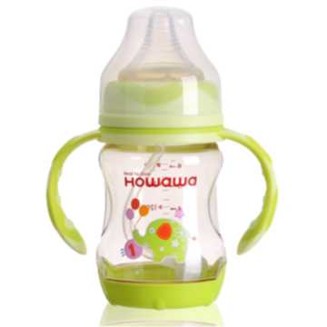 6oz PPSU Milk Infant Nurturing Bottles Heat Sensing