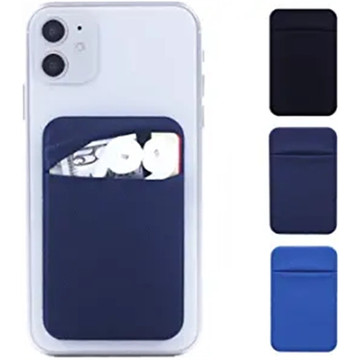 Cell Phone Card Holder Pocket Sticker Stretchy Lycra
