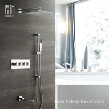 HIDEEP Bathroom Shower Thermostatic Bath Shower Faucet