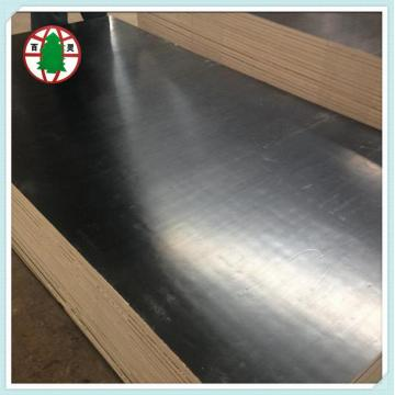 Black film laminated plywood for construction plywood