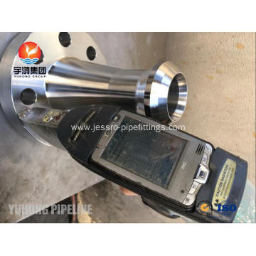 Flangeolet ASTM B564 UNS N06625 RTJ Inconel 625 Flangeolet with PT Testing.