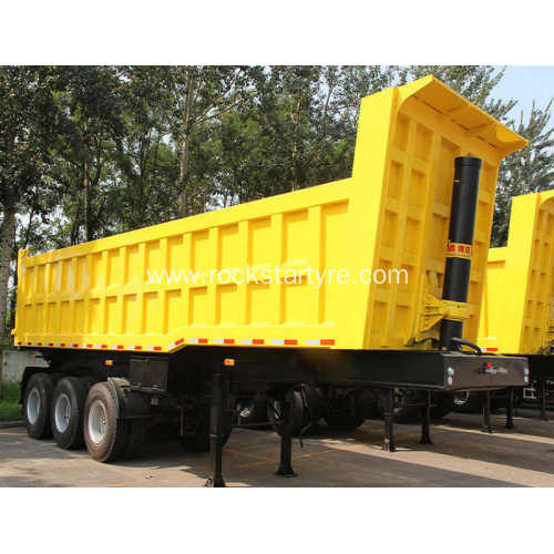 3 Axle Tipper Semi Trailers Rear Dump Trailer