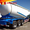 Tri Axle 50M3 Bulk Cement Powder Tank Trailers