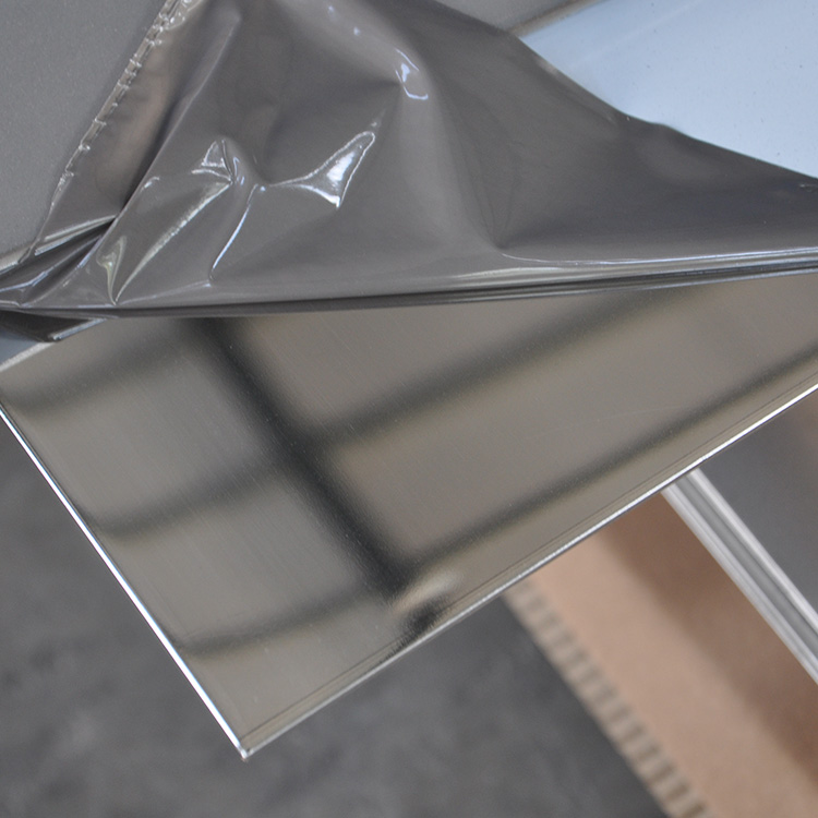 Mirror stainless steel plate