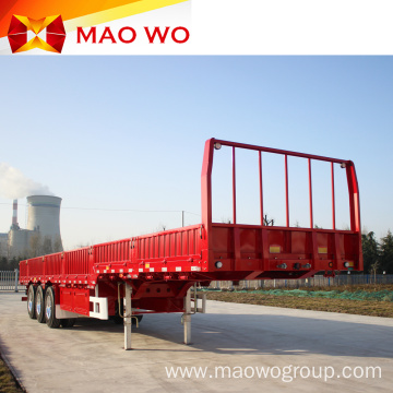 Cargo Transport 3 Axles Side Wall Semi Trailers