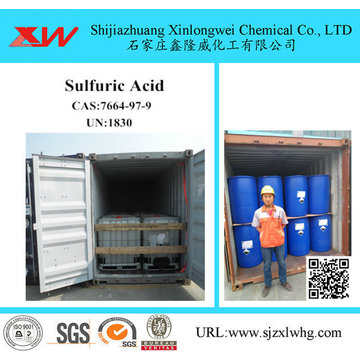 Sulfuric Acid - Gold Process Chemical