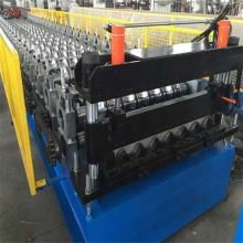 color steel trapezoidal tile cold roll forming machine