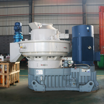 Bamboo pellet mill press
