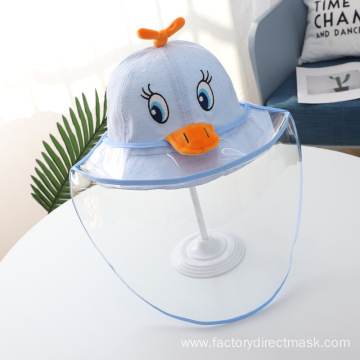 Blue Duck Anti-droplet Hat for Children