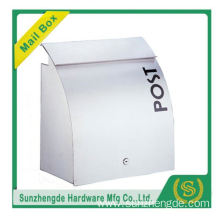 SMB-012SS High Quality German Curve Metal Wall Mounted Stone Letterbox