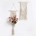 macrame wall hanging black