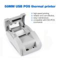 Zjiang POS Thermal Printer Mini 58mm USB POS Receipt Printer For Resaurant Supermarket Store Bill Check Machine EU US Plug