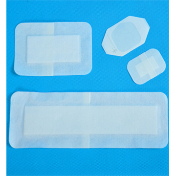 Disposable medical self-adhesive wound dressing