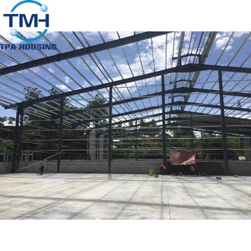used steel prefabricated chicken house trusses warehouse