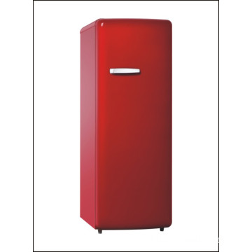 High Quality Red Color Vintage Retro Refrigerator