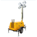 Hot sale telescopic vehicle-mounted mobile light tower