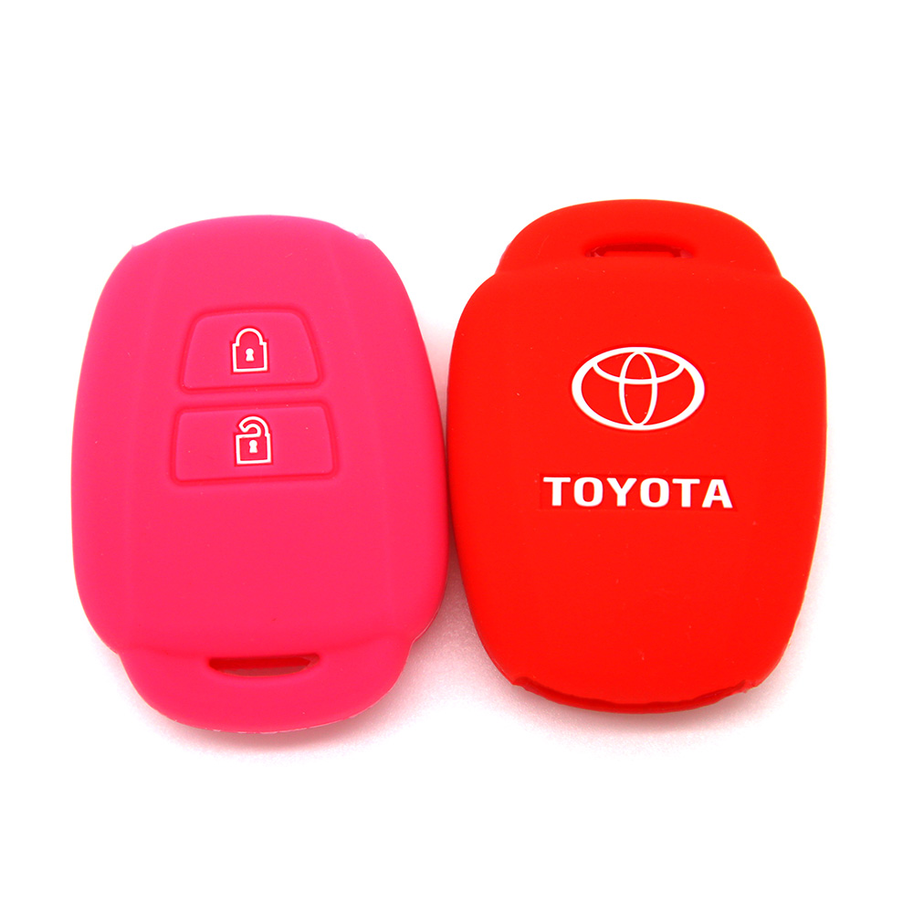 Embossed Toyota Silicone Key Cover