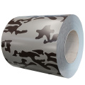 Camouflage color steel sheets