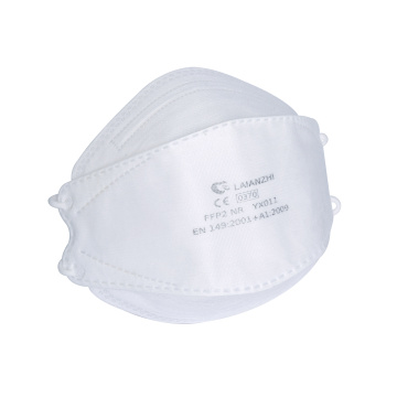 FFP2 KN95 Particulate Respirator FishShape Protector 4Layers