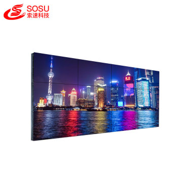 55 inch 3.5mm narrow bezel lcd video wall