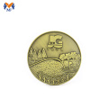 Custom made embossed gold coins promotional