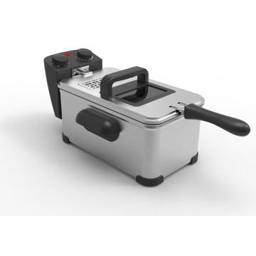 Electric Deep Fryer with timer control