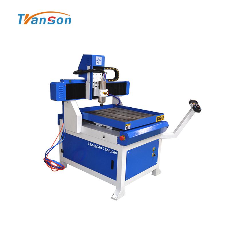 4060 6060 Metal CNC Router With Cabinet