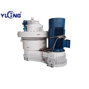 Yulong rice husk pelleting production line