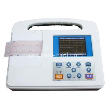 Cheap New Hospital Medical Electrocardiograph (ECG) 1-Channel