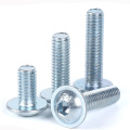 ISO7380 Blue White Zinc Hex Socket  Screws