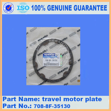 PC220-8 travel motor plate 708-8F-35130 komatsu excavator spare parts