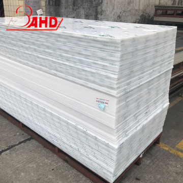 Extruded Solid Size 4x8 Virgin  Polypropylene Plastic PP sheet