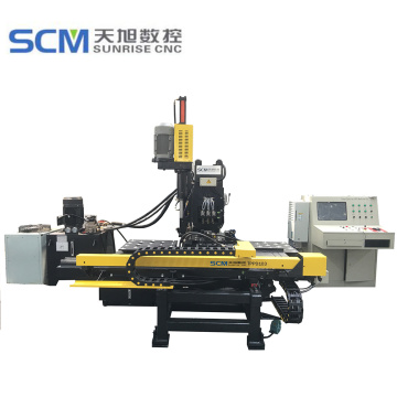 CNC Hydraulic Steel Plates Punching and Drilling Machine
