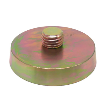 Threaded Insert Magnets With Zinc Coated
