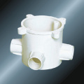 PVC Insulating Electrical Drive Three Way Extension Ring