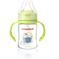 baby glass milk  feeding bottle 150ml