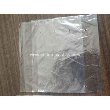 Produce Plastic Fruit Vegetable Bag On Sheet
