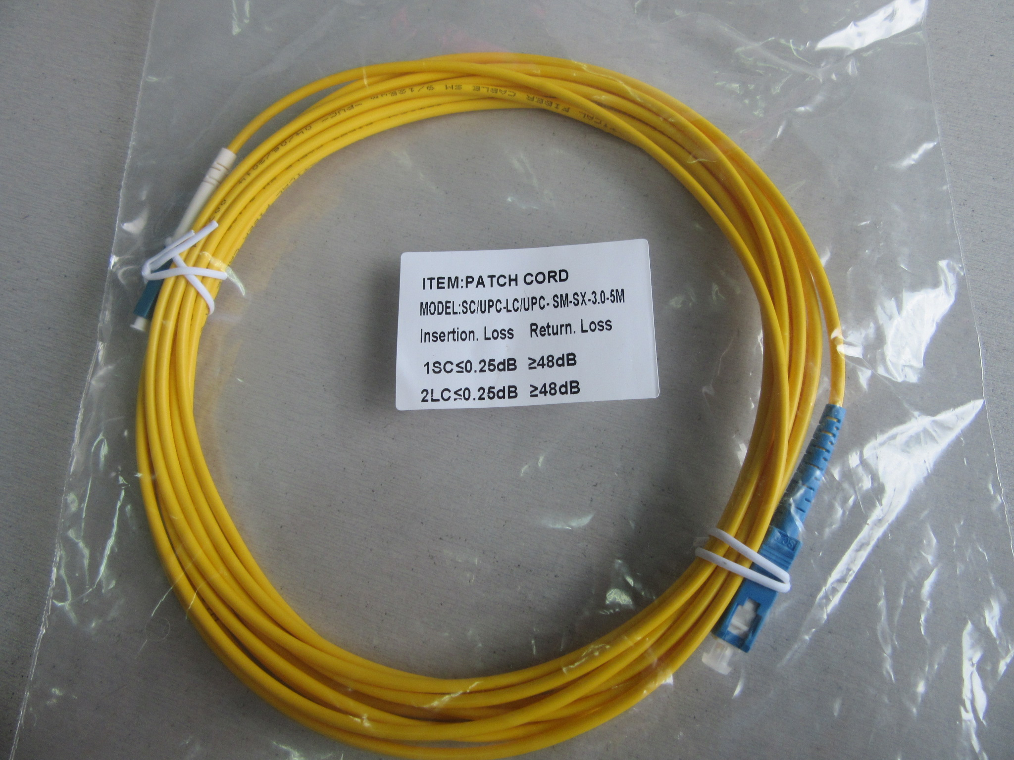 patch cords (5)