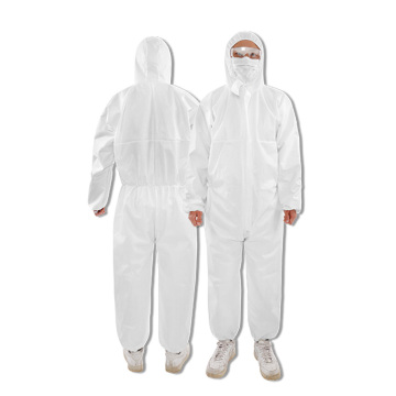 Nonwoven coverall personal patient isolation garment