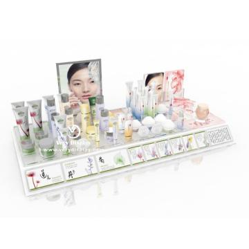 Customized cosmetics store counter display stand