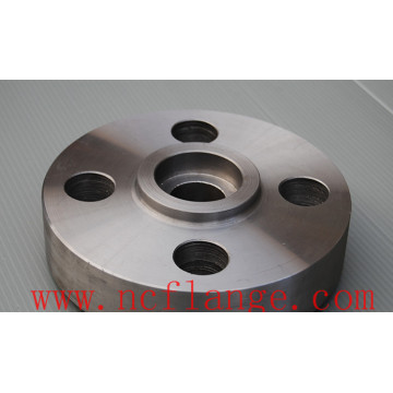 Alloy steel socket welding (SW) RF flange forging