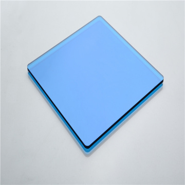 Color blue solid polycarbonate panels price